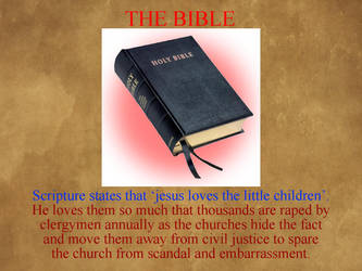 The Bible XV - Jesus Loves Children B by uncledon