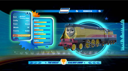 Rebecca in the Great Railway Show by Traininspector11G2
