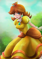 Princess Daisy by Namwhan-K
