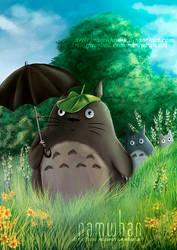 Totoro by Namwhan-K