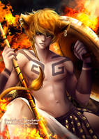 Leo .zodiac. by Namwhan-K