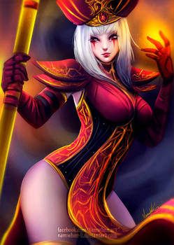 High Inquisitor Whitemane by Namwhan-K
