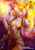 Commission : Blood elf by Namwhan-K