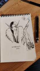 INKTOBER 2018 - Day11 - Cruel by Namwhan-K