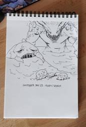 INKTOBER 2018 - Day 23 - Muddy by Namwhan-K