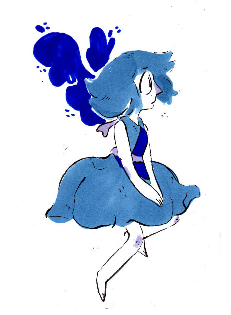 water washes away the past more lapis's on my tumblr