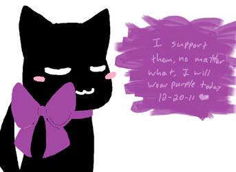 Purple by brokenzero