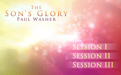 'The Son's Glory' DVD_menu by whitenine