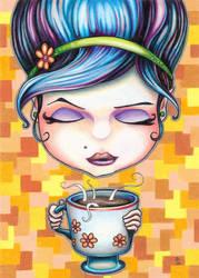 Judy July Coffee Girl by bryancollins