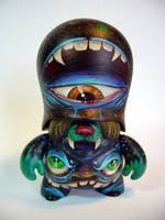 Space Monster Teddy Troop by bryancollins