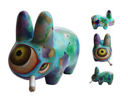 Custom Smorkin' Labbit by bryancollins