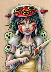 Princess Mononoke by bryancollins