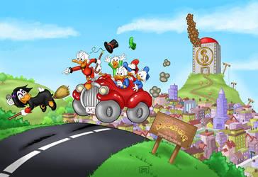 Ducktales Remastered by El-Jerko