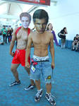Edward Cullen and Jacob Black Cosplay San Diego CC by Jrzil4shizzle