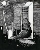 Witch by j-vidanova