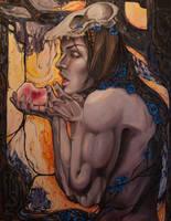 A kiss to the heart by j-vidanova