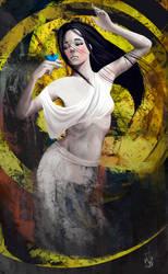 Dance with butterfly by j-vidanova