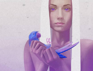 Blue by j-vidanova
