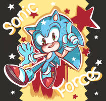 SONIC FORCES! by chibiirose