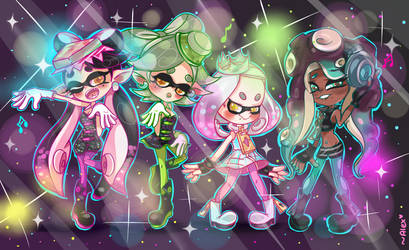 stay off the hook and staaaaaayy FRESH!~ by chibiirose