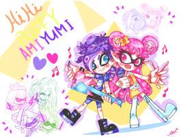 HI HI PUFFY AMI YUMI SPLATOON!! by chibiirose