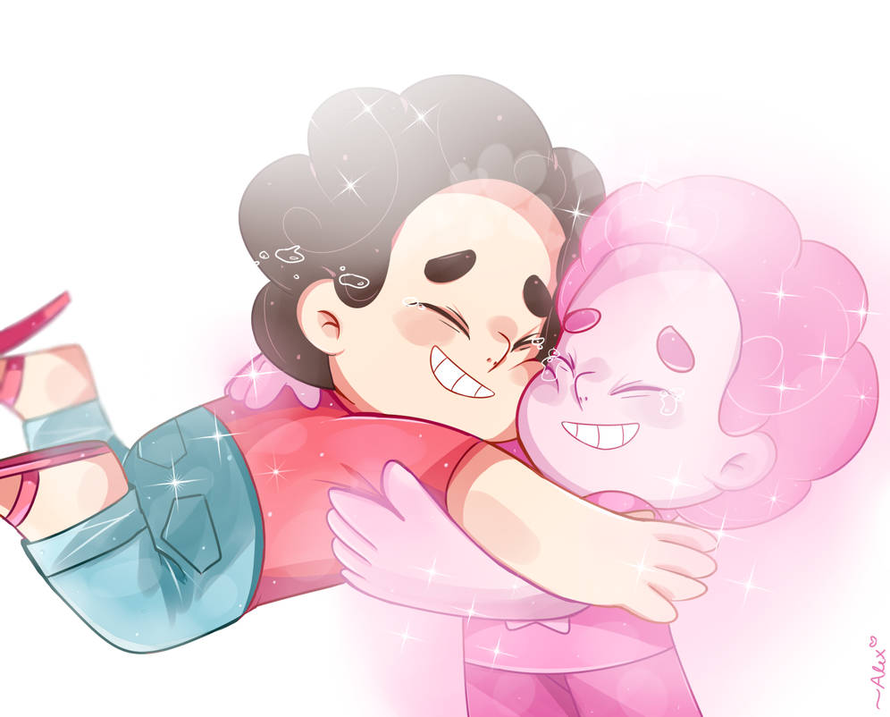 ifdhgidhbb sorry more SU art! Steven discovers he is his own fusion… which represents not only Rose's love for him, but now, his love for himself.   this was a very speci...