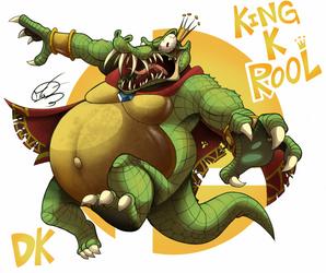 King K Rool | Super Smash Bros Ultimate by AngosturaCartoonist