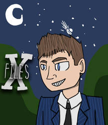 Fox Mulder from the X-FILES by Maxtheconducter