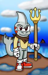 Art Trade: Vhorax the Shark by SmashFan1367
