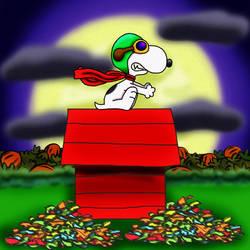 Snoopy's Halloween by SmashFan1367