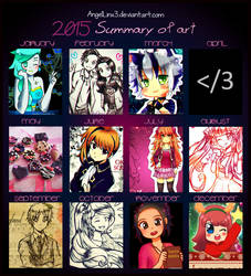 Summary of art 2015 by AngelLinx3