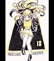 Inktober 2017 | #18 by AngelLinx3