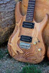 Shark guitar by EagleWingGallery