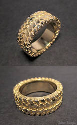 Truck Tire Ring by EagleWingGallery