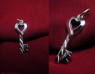 Heart Key by EagleWingGallery