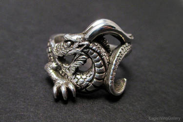 Dragon ring by EagleWingGallery
