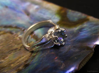 Double Leaf Ring by EagleWingGallery