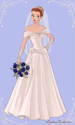 My Dream Wedding Dress by AmericaMarten