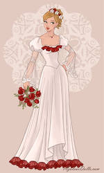 Angel's Wedding Dress by AmericaMarten
