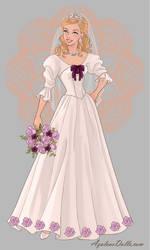 Cecile's Wedding Dress by AmericaMarten