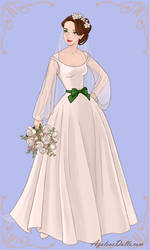 Kitty's Wedding Dress by AmericaMarten