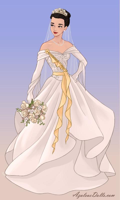 Human Sci Fi's Wedding Dress by AmericaMarten