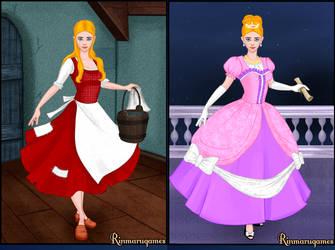 Bobbie-Jo in Cinderella by AmericaMarten