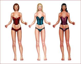 Girls by Untitliel