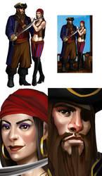 Pirates by Untitliel