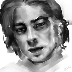 Benicio practice by Untitliel