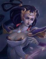 Diana, Lunar Goddess by GrenadeKitten