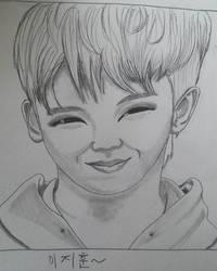 Woozi (Seventeen) by SS4Benatar