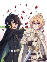 CM - Mikaela and Yuuichiro by Daiity
