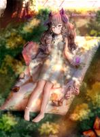 Leaf shadows by Gotenkai